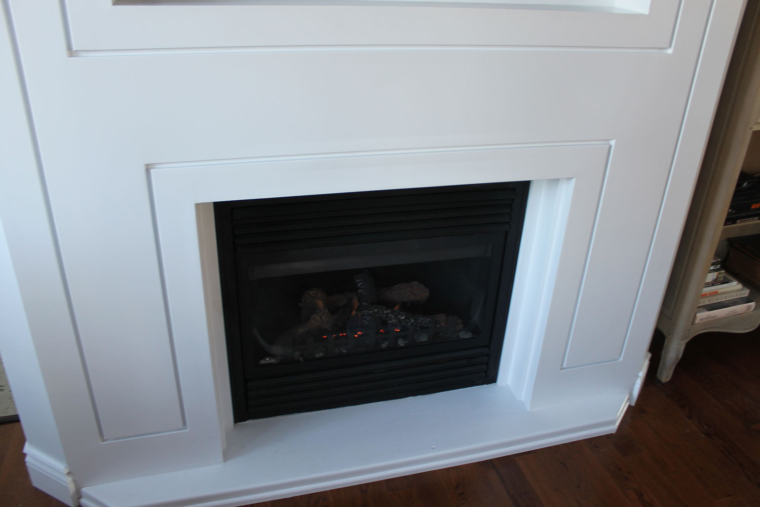 fireplace with a more simple appearance bernie mitchell