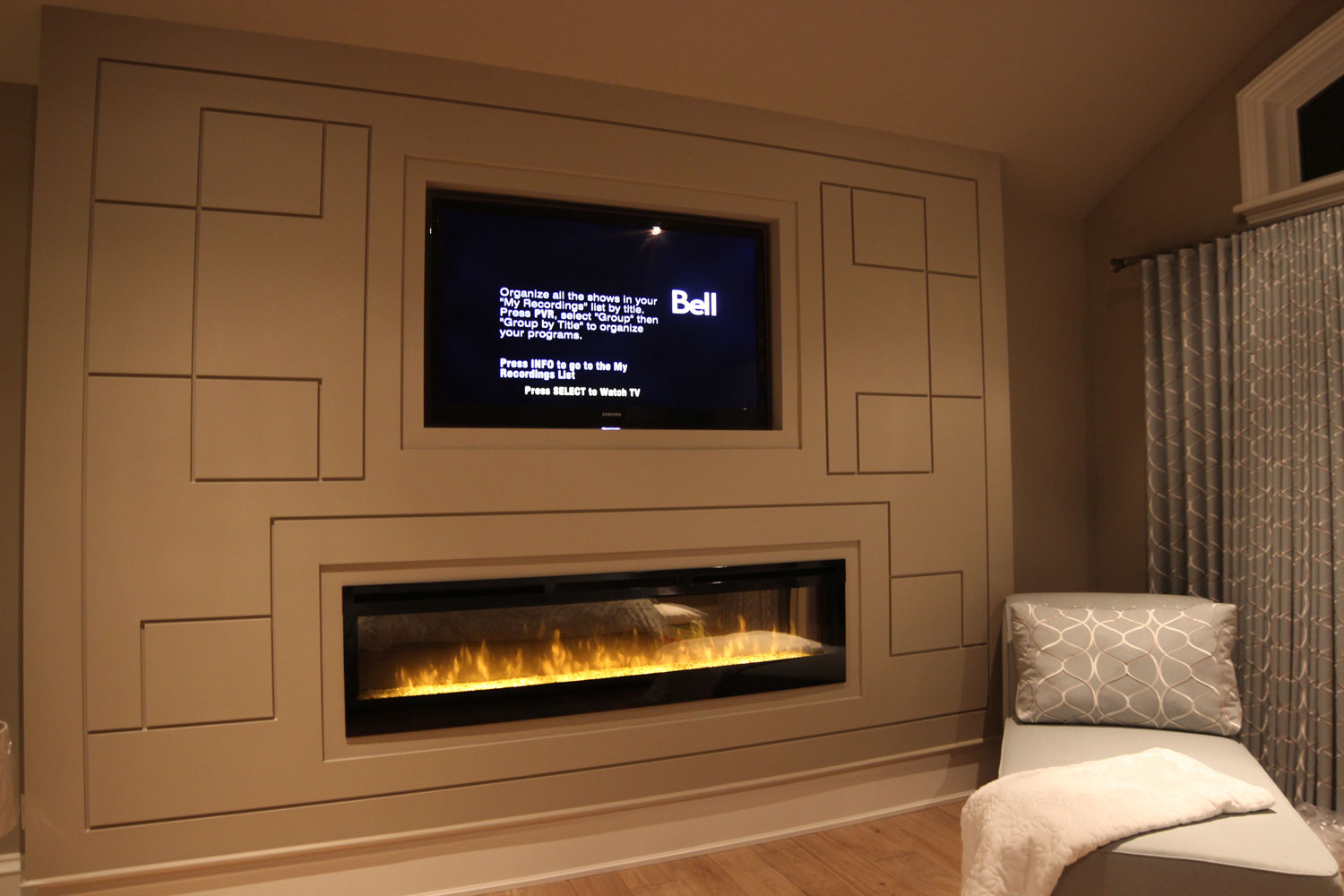Master bedroom fireplace bernie mitchell for Master bedroom fireplace